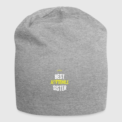 Distressed - BEST SOFTBALL SISTER - Jersey Beanie