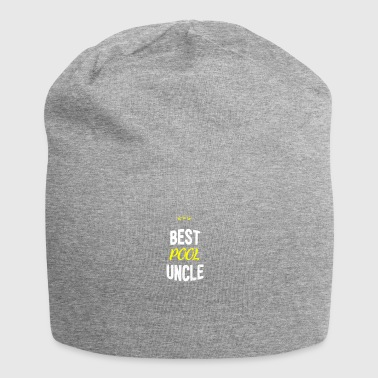Distressed - BEST POOL UNCLE - Jersey Beanie