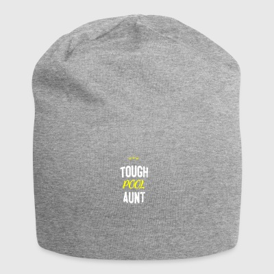 Distressed - TOUGH POOL AUNT - Jersey Beanie