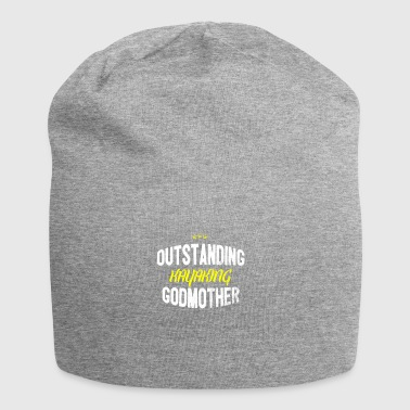 Distressed - OUTSTANDING KAYAKING GODMOTHER - Jersey Beanie