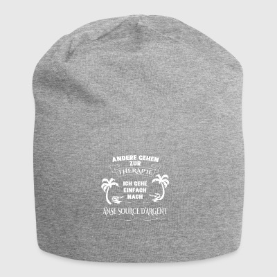 ANSE SOURCE D'ARGENT therapy gift holiday - Jersey Beanie