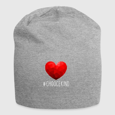 ChooceKind Tshirt - Beanie in jersey