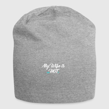 My Wife is psycHOTic Gift - Jersey Beanie