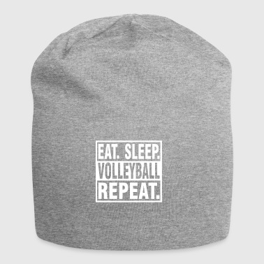 EAT SLEEP Volleyball REPEAT - Tshirt Gift - Jersey Beanie