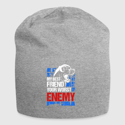 My best friend - your worst enemy - Jersey Beanie