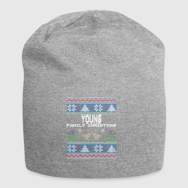 Ugly Young Christmas Family Vacation Tshirt - Jersey Beanie