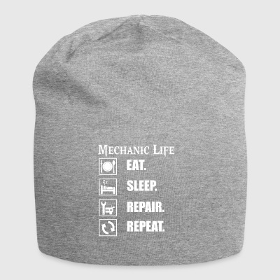 Life as a mechanic is tough! Funny design - Jersey Beanie