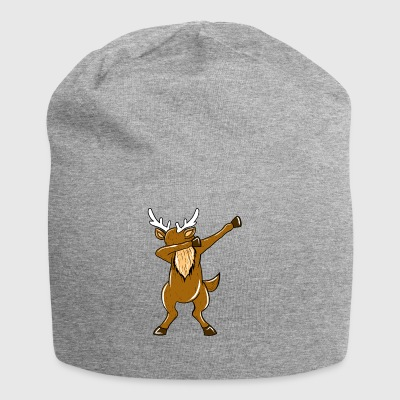 Dabbing Reindeer Xmas Funny Dab Christmas Holiday - Jersey-beanie