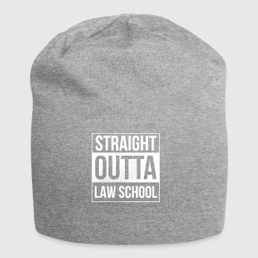 Straight Outta Law School - Law Students - Jersey Beanie