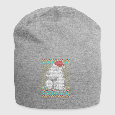 Pudel Ugly Christmas Sweater Geschenk - Jersey-Beanie