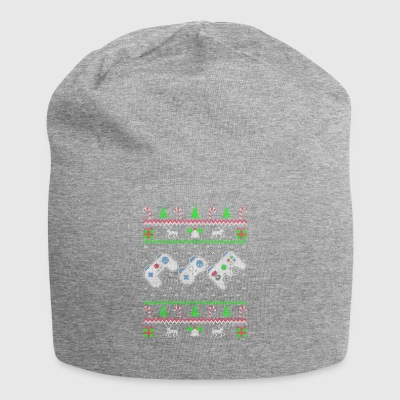 Gaming Ugly Christmas Sweater Gift - Jersey Beanie