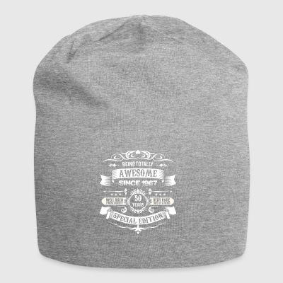 Totally Awesome Since 1967 50th Birthday - Beanie in jersey