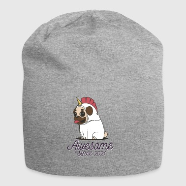 Awesome sinds 2021 | Funny Unicorn Pug - Jersey-Beanie