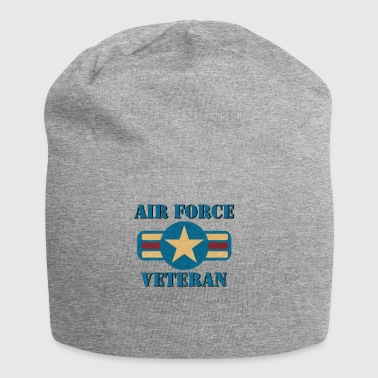 Vintage US Air Force USAF Vet Geschenk Military - Jersey-Beanie