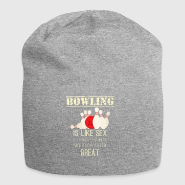 Bowling - Sex - Funny - Bowling - Gift - Jersey-beanie