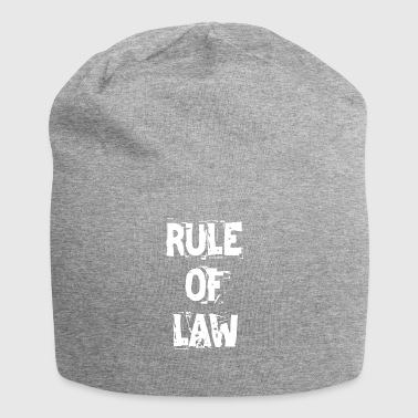 RULE OF LAW T-Shirt - Jersey Beanie