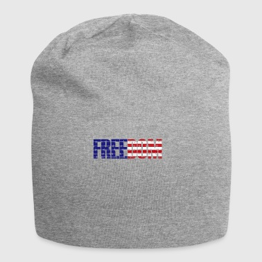 Liberty T-Shirt USA Flag Colors - Jersey Beanie