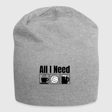 All I Need | Divertente Pallanuoto T-shirt - Beanie in jersey