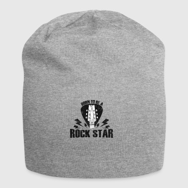 Born To Be Rock Star - Rock n Roll - Jersey Beanie