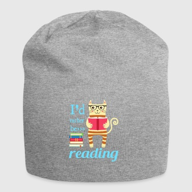 I would rather read - Jersey Beanie