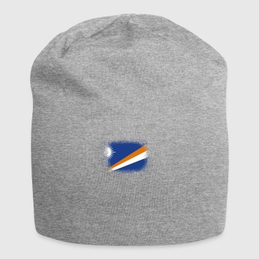 Spray logo claw flag home Marshall Islands png - Jersey Beanie