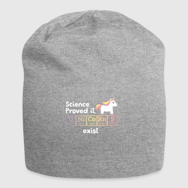 Funny Unicorn - Periodic Table - Gift - Jersey Beanie