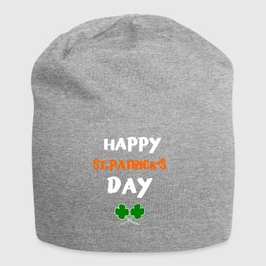 happy St.Patricks Day 17.March - Jersey Beanie