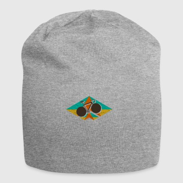 Road bike geometric - bicycle gift - Jersey Beanie