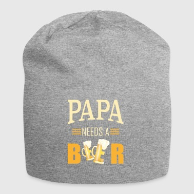 Daddy needs a beer - Jersey Beanie