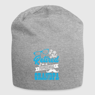Shirt for pensioners as a gift - professional grandpa - Jersey Beanie