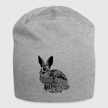 Floral Bunny - Jersey Beanie