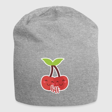 Frutta / frutta: ciliegie - BFF - Best Friends - Beanie in jersey