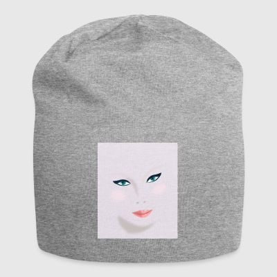 Female face - Jersey Beanie