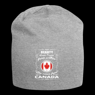 beauty comes from CANADA png - Jersey Beanie