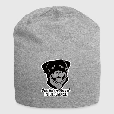 Hund / Rottweiler: Guardian Angel In Disguise - Jersey-Beanie