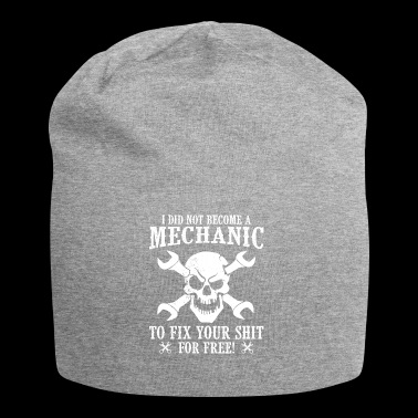 Mechanic to fix not for free - Jersey Beanie