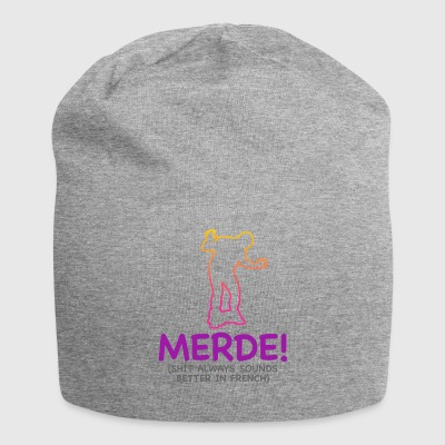 Swear Words Sound Better In French - Jersey Beanie
