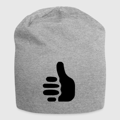 thumbs up - Jersey-Beanie
