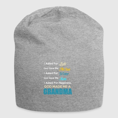 God made me a Grandma - Jersey Beanie
