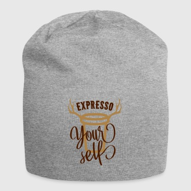 Expresso your self - coffee - coffee - Jersey Beanie