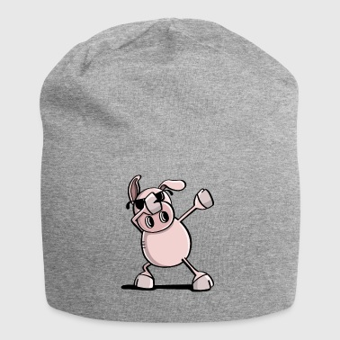 Cool Dab Dance Wutz - Dabbing Pig - Trend - Jersey Beanie