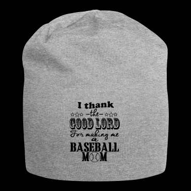 thank god baseball mom - Jersey-Beanie