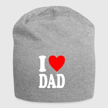 I love dad - Beanie in jersey