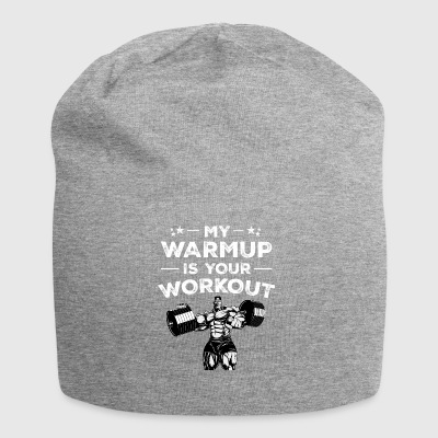 Warump Outwork Fitness Gift Birthday - Jersey Beanie