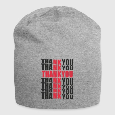 THANK YOU - Jersey-Beanie