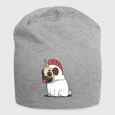 Pug in unicorn disguise - Jersey Beanie