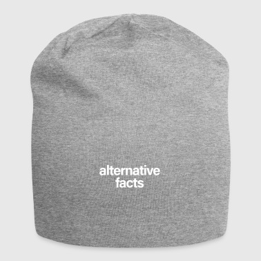 Alternative Facts White - Jersey Beanie