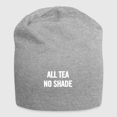 All Tea No Shade White - Jersey Beanie