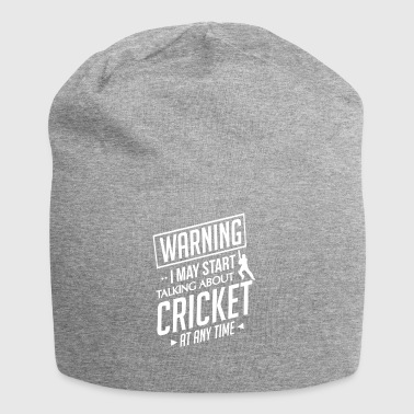 Cricket gift - Cricketer Pitcher Catcher - Jersey-Beanie