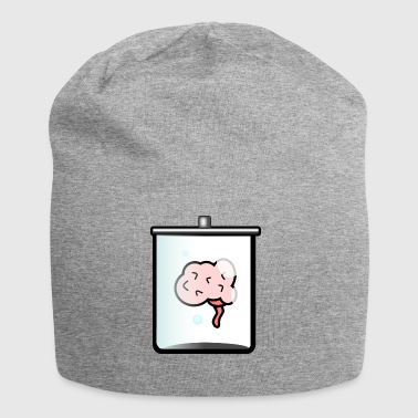 brain, glass brain in the glass - Jersey Beanie
